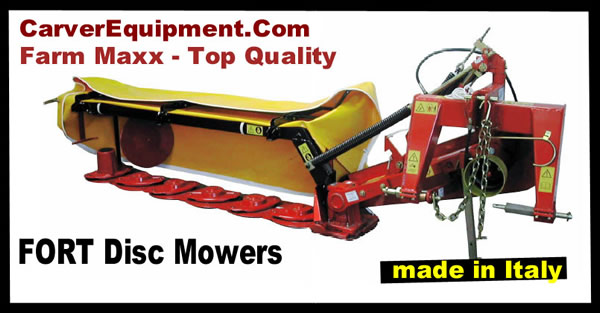 Farm-Maxx Fort Disc Mowers from Carver Equipment
