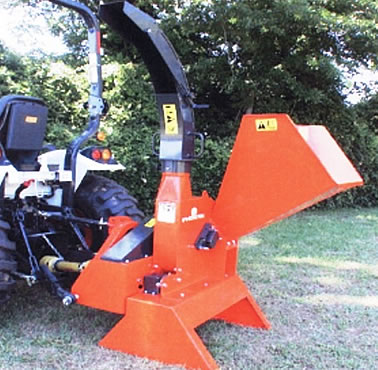 Wood Chipper Carver Phoenix Tractor Three Point Hitch