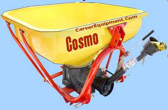Cosmo Spreader Parts : Cosmo spreader photos carver equipment spin spreaders