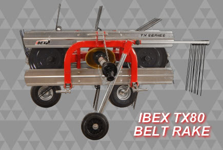 IBEX TX80 Belt Rake - PTO Shaft
