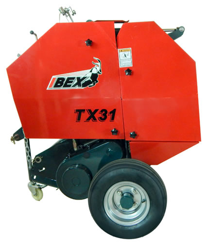 IBEX Mini Balers, Hay Mowers, Hay Rakes, Baling Equipment